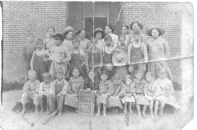 1910 Brush Ridge School